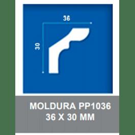 MOLDURA EPS PP1036 36X30MMX2MTS