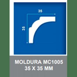 MOLDURA EPS MC1005 35X35MMX2MTS