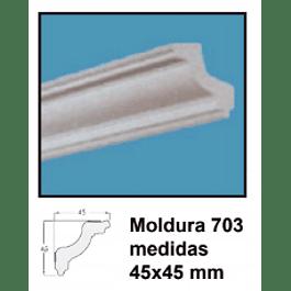 MOLDURA EPS 703 45X45MMX2MTS