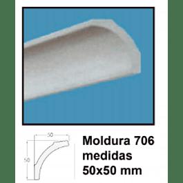 MOLDURA EPS 706 50X50MMx2MTS
