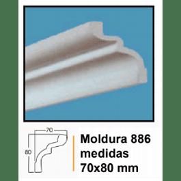 MOLDURA EPS 886 70X80MMX2MTS