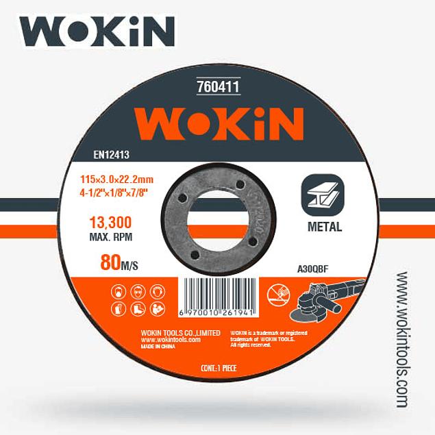 DISCO CORTE 4 1/2 WOKIN