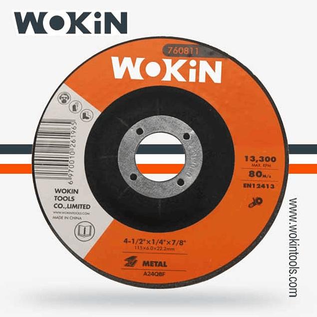DISCO DESVASTE 7 WOKIN