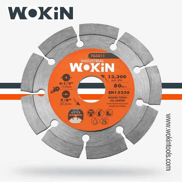 DISCO DIAM SEGM 41/2 WOKIN IN