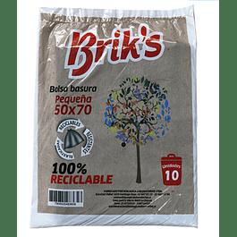 BOLSAS 50*70 BRIKS