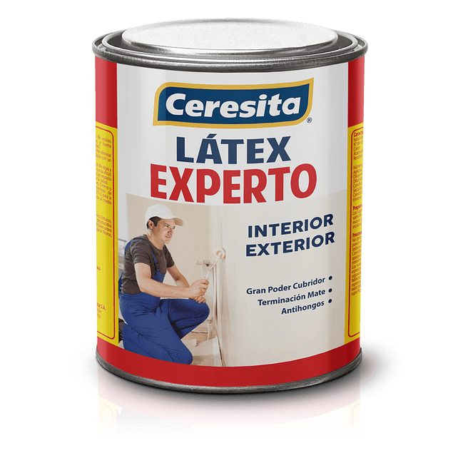 LATEX HABITACIONAL BLANCO N 1LT CERESITA