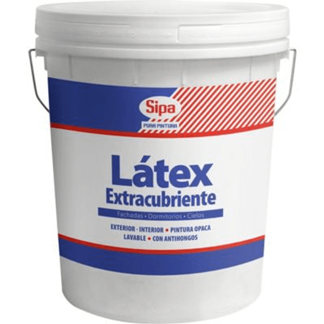 LATEX EXTRACUBRIENTE BLANCO 4GL SIPA