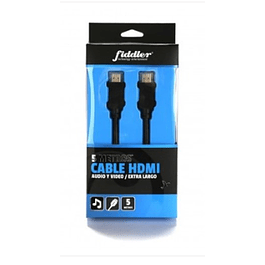 CABLE HDMI EXTRA LARGO 5 MTS