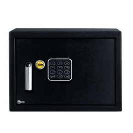 CAJA FUERTE ELECTRONICA COMPACTA 8.6 LT NEGRA YALE