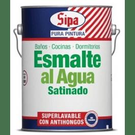 ESMALTE AGUA SATINADO BASE U GL SIPA