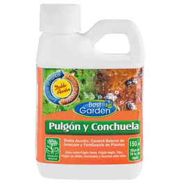 CONTROL NATURAL PULGON Y CONCHUELA 150 CC BEST GARDEN