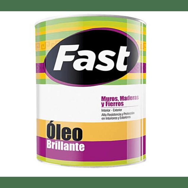 OLEO BRILLANTE FAST GRIS 1/4 GL