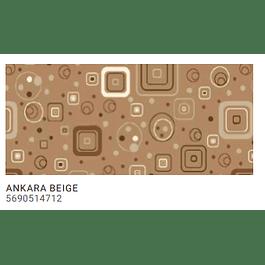 ALFOMBRA PASILLO ANKARA BEIGE 0,67MT X METRO LINEAL