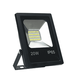 PROYECTOR LED SMD 20W 6000K  NEGRO BYP