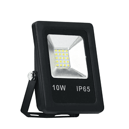 PROYECTOR LED SMD 10W 6000K NEGRO BYP