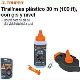 TIZA LINEAS TRUPER PLASTICO 30 MTS  # TL-50