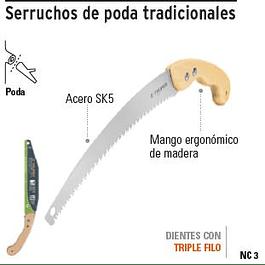 SERRUCHO TRUPER PODAR M/MADERA 3 FILOS # STP-12