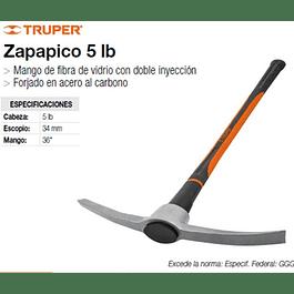 PICOTA TRUPER 5 LBS MANGO FIBRA VIDRIO # ZP-5F