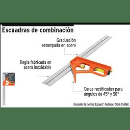 ESCUADRA COMBINACION TRUPER 12PULG # ECT-12