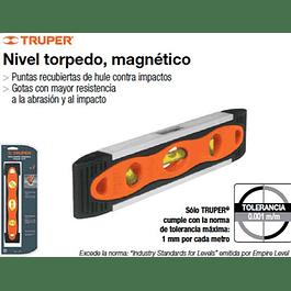 NIVEL TRUPER TORPEDO 9PULG MAGNETICO # NTX-9