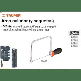 ARCO SIERRA TRUPER CALAR 6 # ACA-6X  C/5 SIERRAS