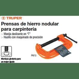 PRENSA CARPINTERO TRUPER C - 6PULG # PNT-6