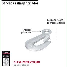 GANCHO TRUPER C/SEGURO 3/4PULG # GANES-3/4