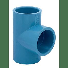 TEE PVC (PRESION) 40MM