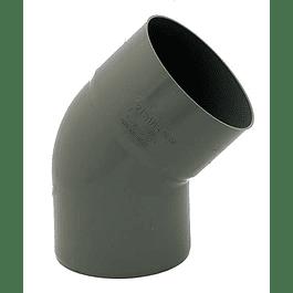 CURVA PVC SANITARIA 40MM