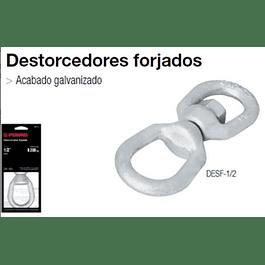DESTORCEDOR TRUPER GALVANIZADO 3/16 350KG