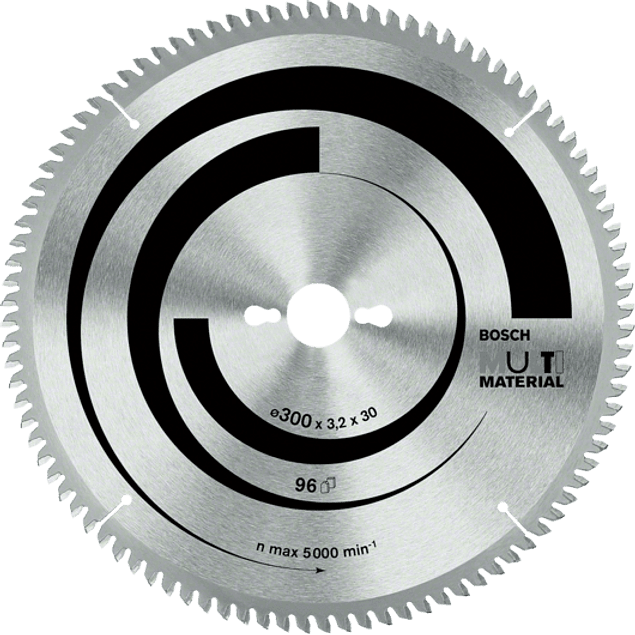 DISCO SIERRA CIRCULAR 10X80T MULTI MATERIAL BOSCH