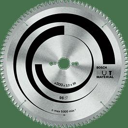 DISCO SIERRA CIRCULAR 10X100T MULTI MATERIAL BOSCH