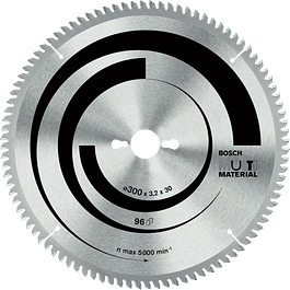 DISCO SIERRA CIRCULAR 12X100T MULTI MATERIAL BOSCH