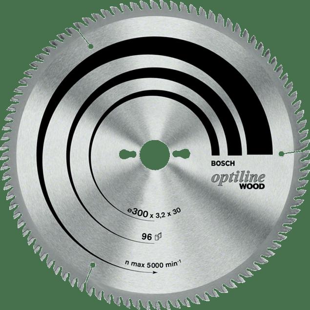 DISCO SIERRA 7.1/4 24 DTE OPTILINE BOSCH