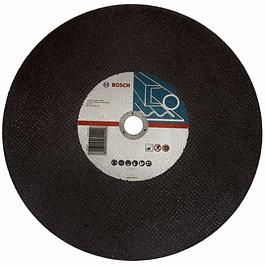 DISCO CORTE METAL 14 X 1 X 2,8MM ESPESOR, GRANO 30  BOSCH