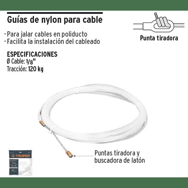 GUIA P/ELECTRICISTA NYLON 30 MT TRUPER