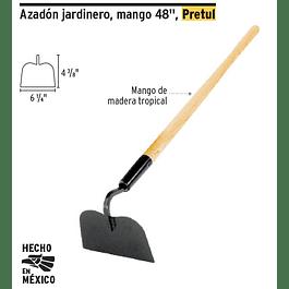 AZADON JARDINERO C/MANGO 48PULG PRETUL