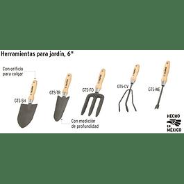 DESMALEZADOR TRUPER P/JARDIN 6PULG GTS-WE