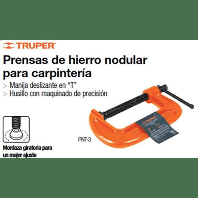 PRENSA CARPINTERO TRUPER C - 8PULG # PNT-8