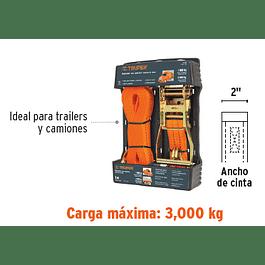 ESLINGA TRUPER  9 MTX2PULG CARGA MAXIMA 3.000 KG. # SU-3000C