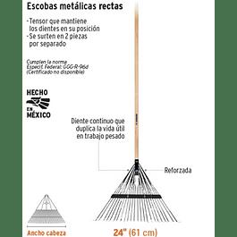 RASTRILLO TRUPER JARDIN 24 DTES C/ MANGO MADERA #EMX-24