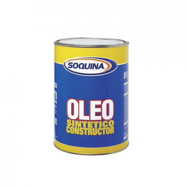 OLEO SINT CONSTRUCTOR AZUL MEDIANO 1LT SOQUINA