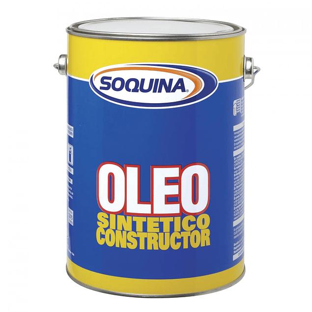 OLEO SINT CONSTRUCTOR NEGRO GL SOQUINA