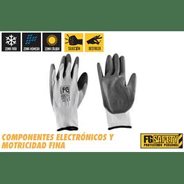 GUANTE NYLON /POLIURETANO TALLA L FG SAFETY