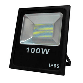PROYECTOR LED SMD 100W 6000K NEGRO BYP