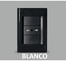 ENCHUFE EMBUTIDO 10/16A BLANCO KALOP