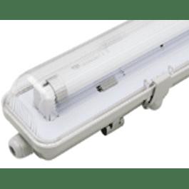 EQUIPO ESTANCO LED 1X9W 600MM CON TUBO DRL