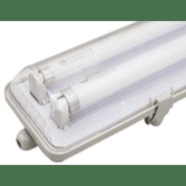 EQUIPO ESTANCO LED 2X9W 600MM CON TUBO DRL