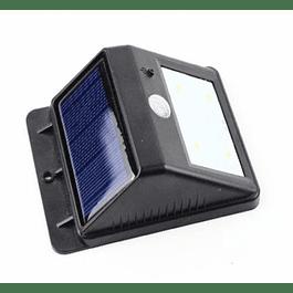 APLIQUE MURO EXTERIOR LED SOLAR MINI C/SENSOR BP