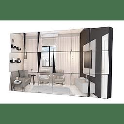 Quadro Espelho Invictus - Alteração de valores por medidas